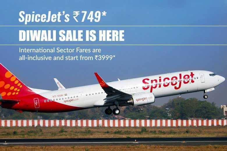 SpiceJet Diwali offer