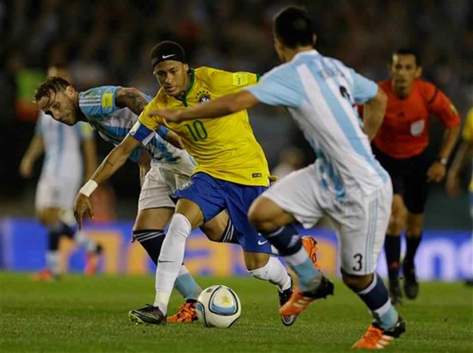 Argentina, Brazil draw 1-1 in classic World Cup qualifier