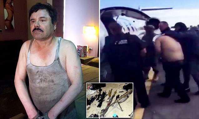 El Chapo: Mexican Drug Trafficker Arrested, President Enrique Peña Nieto Confirms Online