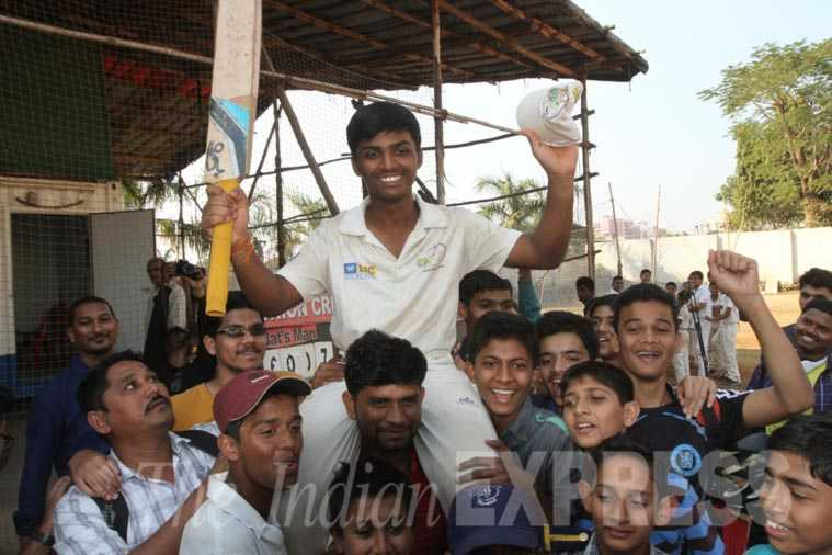 With 1,000 runs, Pranav Dhanawade bats his way into record books