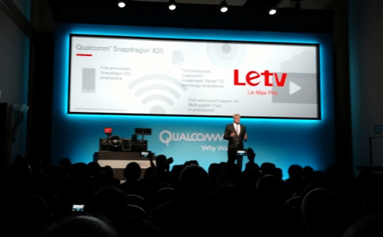 Letv to establish world's first smartphone with Qualcomm Snapdragon 820 chipset