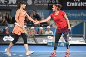Double delight for Sania Mirza at Australian Open