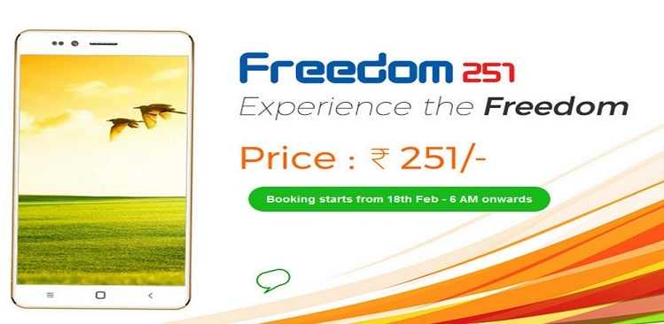Freedom 251 price clarified: Just how cheap can a smartphone get?