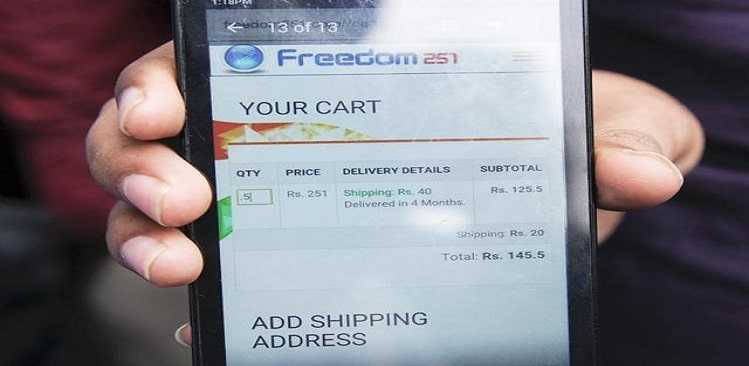BJP MP calls Freedom 251 smartphone booking 'bogus company scam'