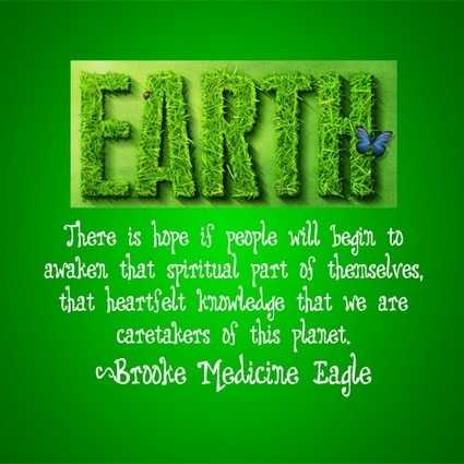 earth day slogan or quote