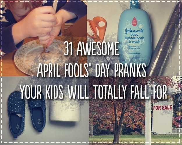 april fools pranks for middle school