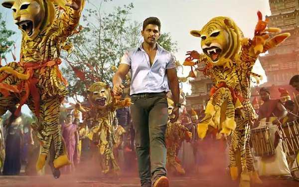 Sarainodu is the first Telugu movie to Shoot at Bolivia