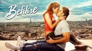Look Up Befikre Second Poster Ranveer Singh & Vaani Image Wallpapers