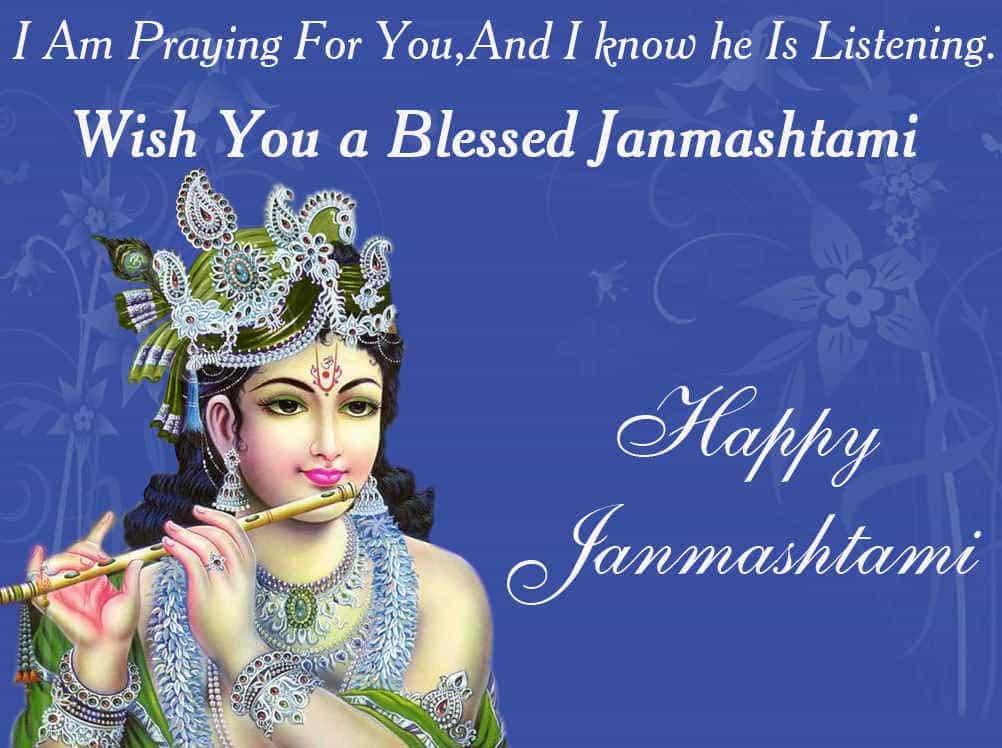 Happy Krishna Janmashtami Sms 2017 Hindi English Marathi