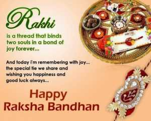 Raksha Bandhan Quotes in English 2017 for Brother with Images