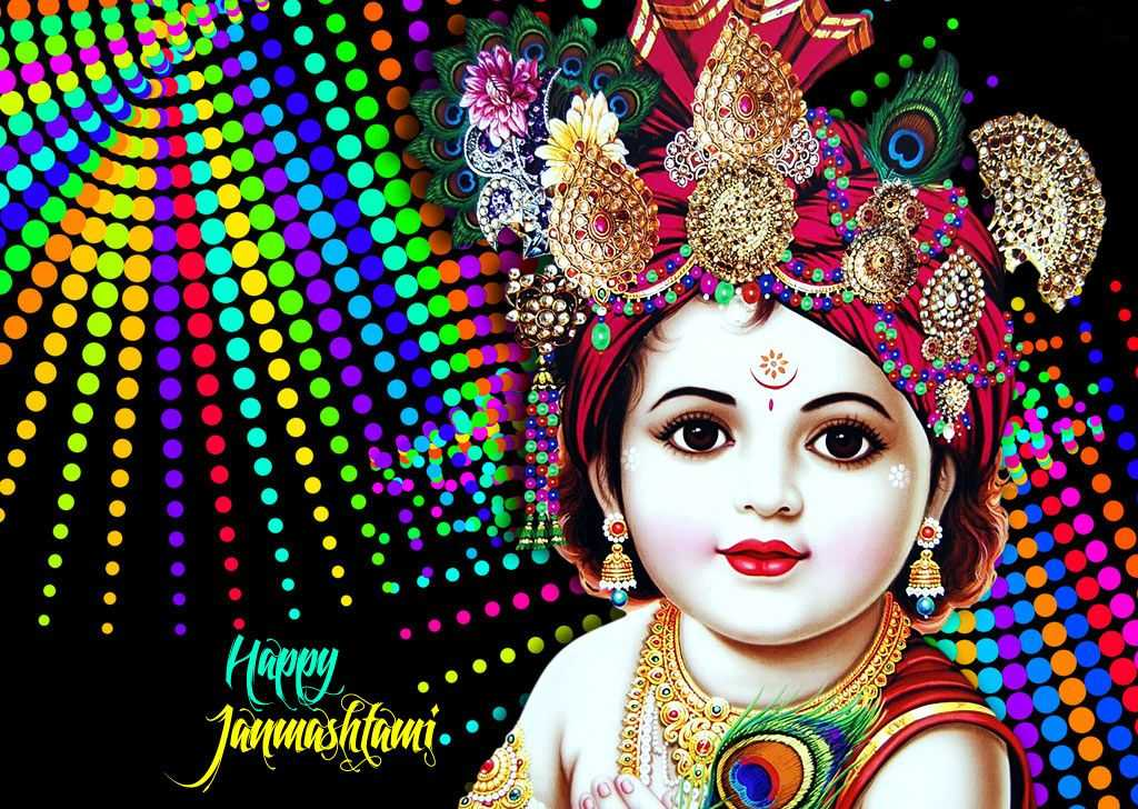 krishna janmashtami hd wallpaper