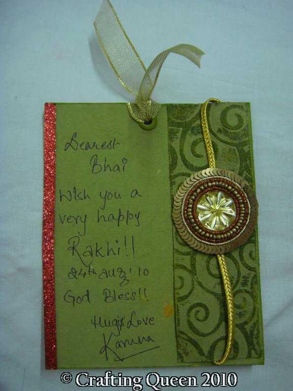 Handmade Rakhi Greeting Cards