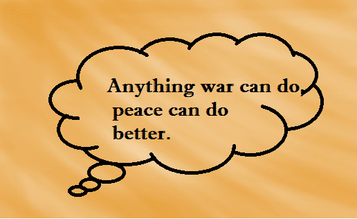 slogans on peace 2016