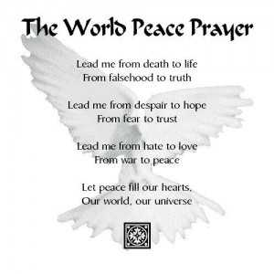 Prayer for Peace and Love 2017 Images for the World