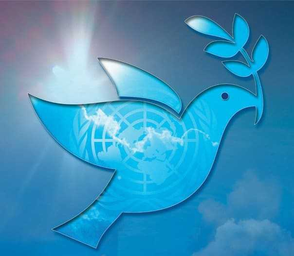 International Day of Peace 2017 Logo Prayer and Activities for Kindergarten
