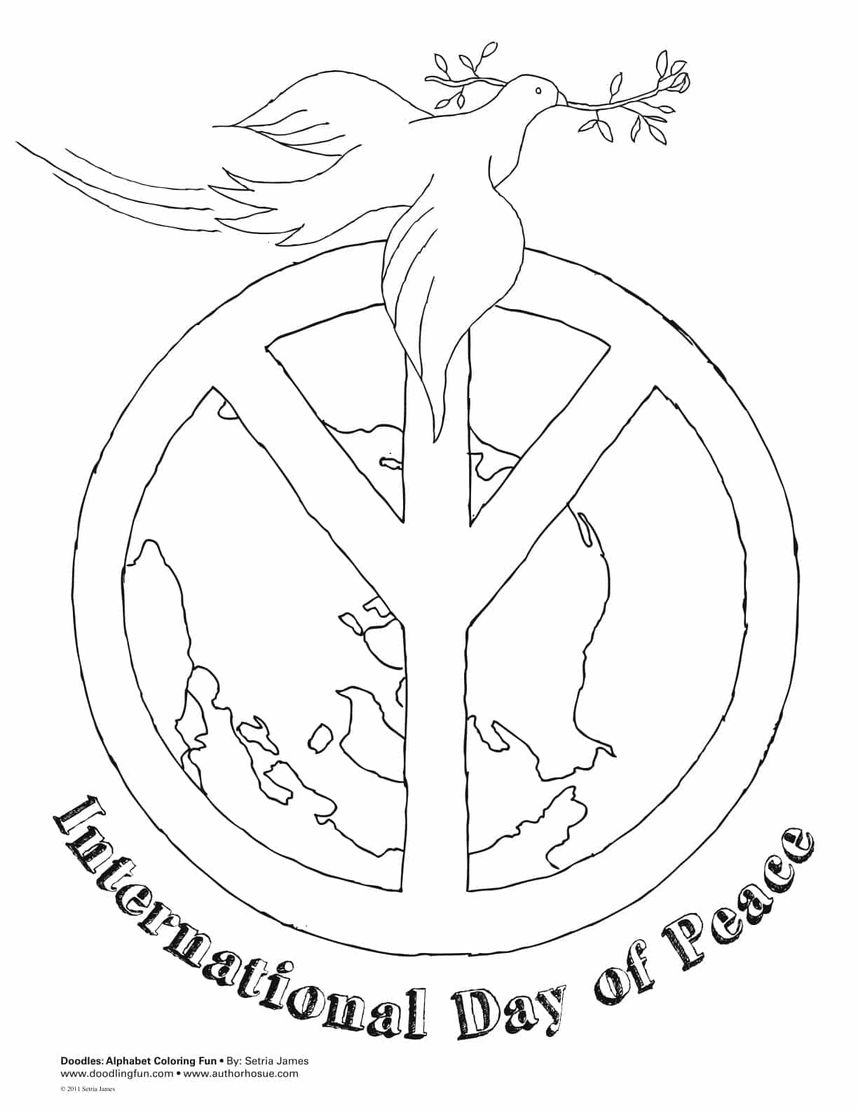 international day of peace 2017 coloring pages greetings poems