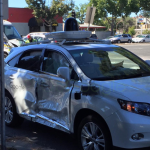Google's Self Driving Car Involved In An Road Accident In US
