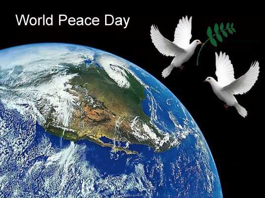 National World Peace Day 2017 Quotes Activities
