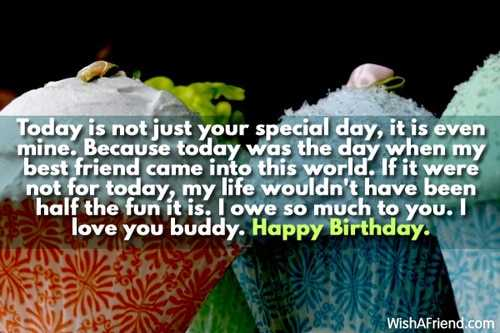 funny facebook status for best friends birthday