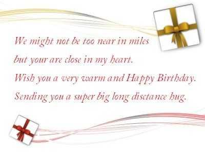 happy birthday messages to boyfriend far away