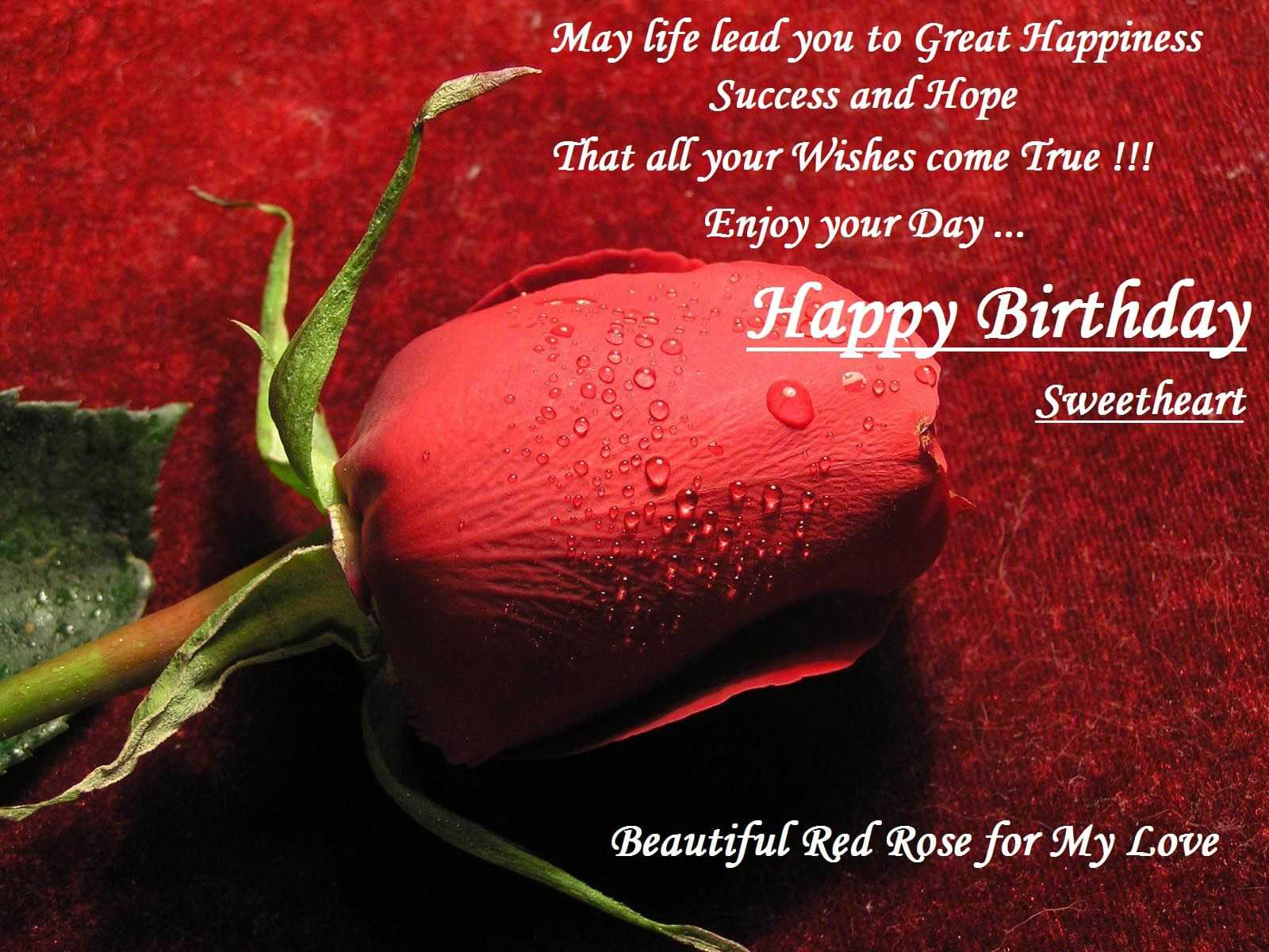 birthday greetings for wife free download