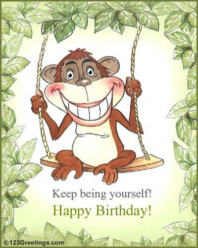 birthday greetings funny free