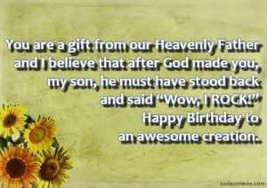 Best Whatsapp Birthday Status for My Son from Mom in English