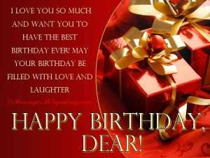 Romantic Birthday Sms for Lover Girl Free Download