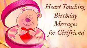 Romantic Birthday Messages Images for Girlfriend in English