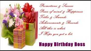 Happy Birthday Text Messages Sms to Lady Boss in English