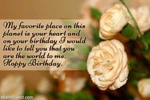 Most Romantic Lovable Birthday Quotes for Wife