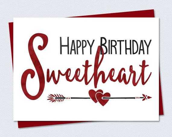 Happy Birthday Romantic Cards Printable Free for Wife Happy – Birthday Card Printable Free