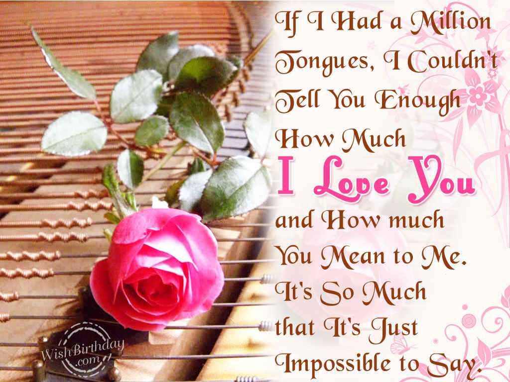 I Love You So Much Wishes Quotes for Husband Best and Cute