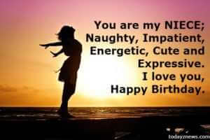 Happy 18th Birthday Wishes Quotes to My Beautiful Niece