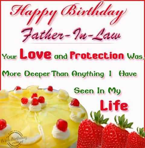Happy Birthday Wishes Greetings Messages for Father in Law – Happy Birthday Greetings to Father