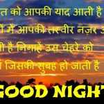 Good Night Shayari Images Hd