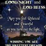 good night god bless quotes