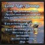 Good Night Blessings for Him