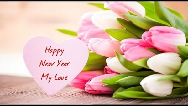 happy new year wishes for my love