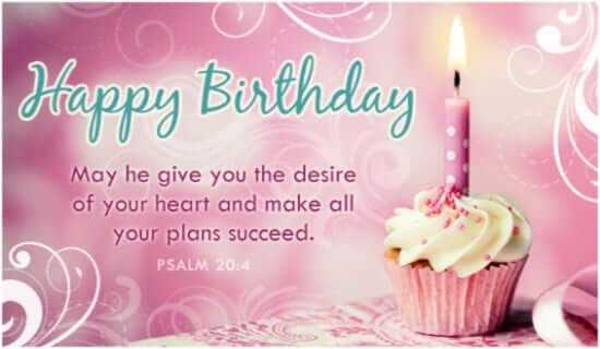 birthday bible verses for friends