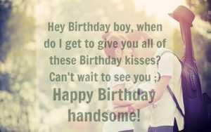 Happy Birthday Quotes for Lover Boyfriend Romantic