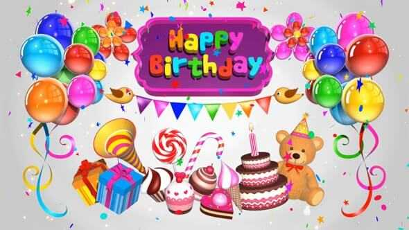 Happy Birthday Wishes for Kids Turning 2