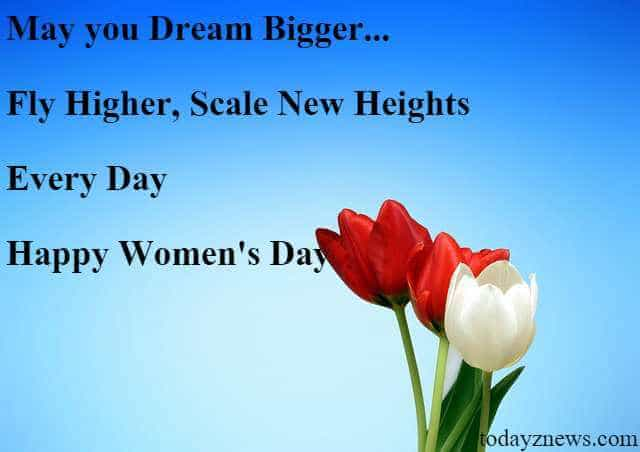 happy women's day sms messages to wife