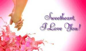 I Love You Sweetheart Messages Quotes Sms and Gifs