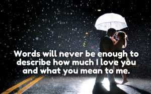 I Love You So Much Quotes and Sayings for My Darling