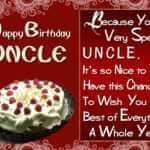 belated happy birthday wishes for uncle