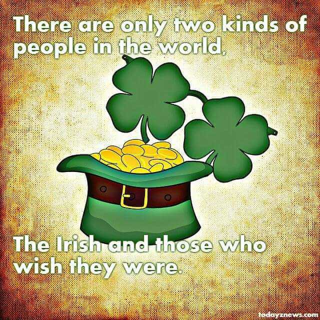 St. Patrick's Day Irish Blessings and Sayings