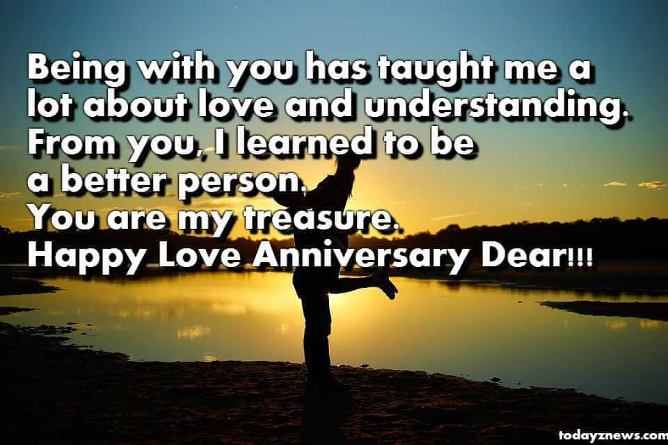 Romantic 3rd Love Anniversary Quotes for Her