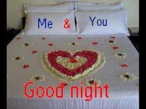 Good Night Kiss and Hug Images for Husband and Wife