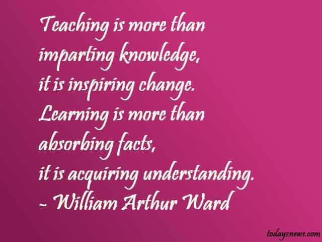 Inspirational Quotes for Early Childhood Teachers With Explanation